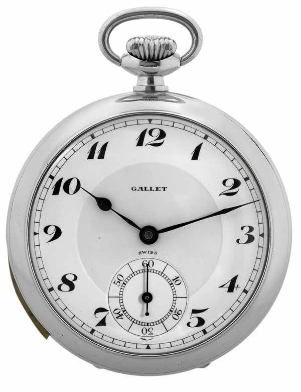 10: Gallet & Cie Vintage Minute Repeater Pocketwatch