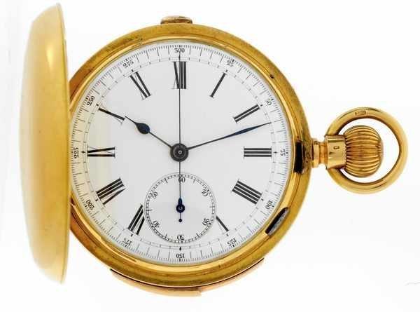 16: J Meylan Truan Vintage Repeating Pocketwatch1890