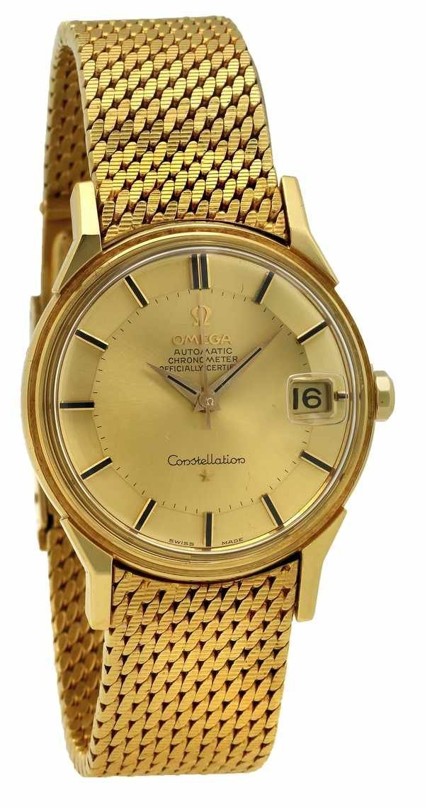 17: Omega Constellation 18k/18k ca 1960 Chronometer