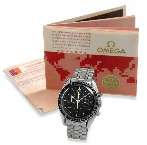 23: Omega Speedmaster Moonphase Chronograph Steel