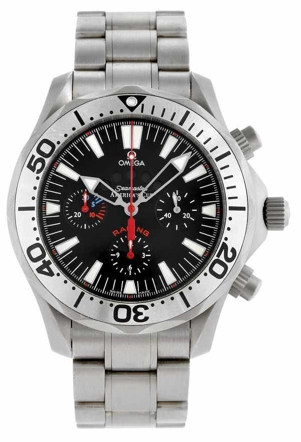 24: Omega Seamaster America's Cup Chronograph Ti.