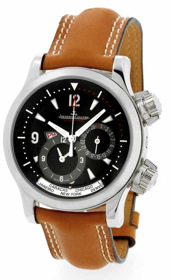 39: Jaeger LeCoultre Master Compressor Geographic SS