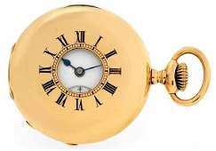 392: Patek Philippe Vintage Half Hunter Pocketwatch