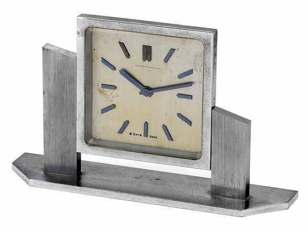 4: Concord Watch Co Art Deco Chromed DeskClock '30s