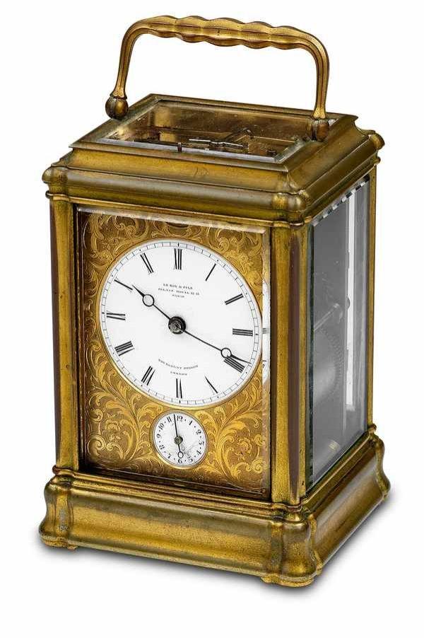 8: LeRoy&Fils Grand/Petite Sonnerie Carriage Clock