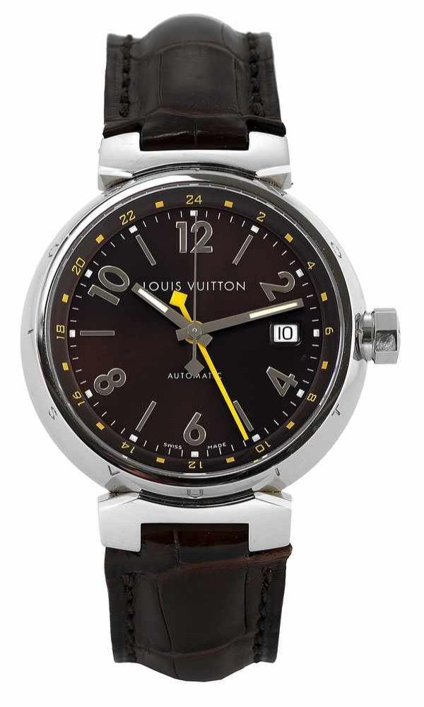 13: Louis Vuitton Tambour GMT Automatic Steel 2000