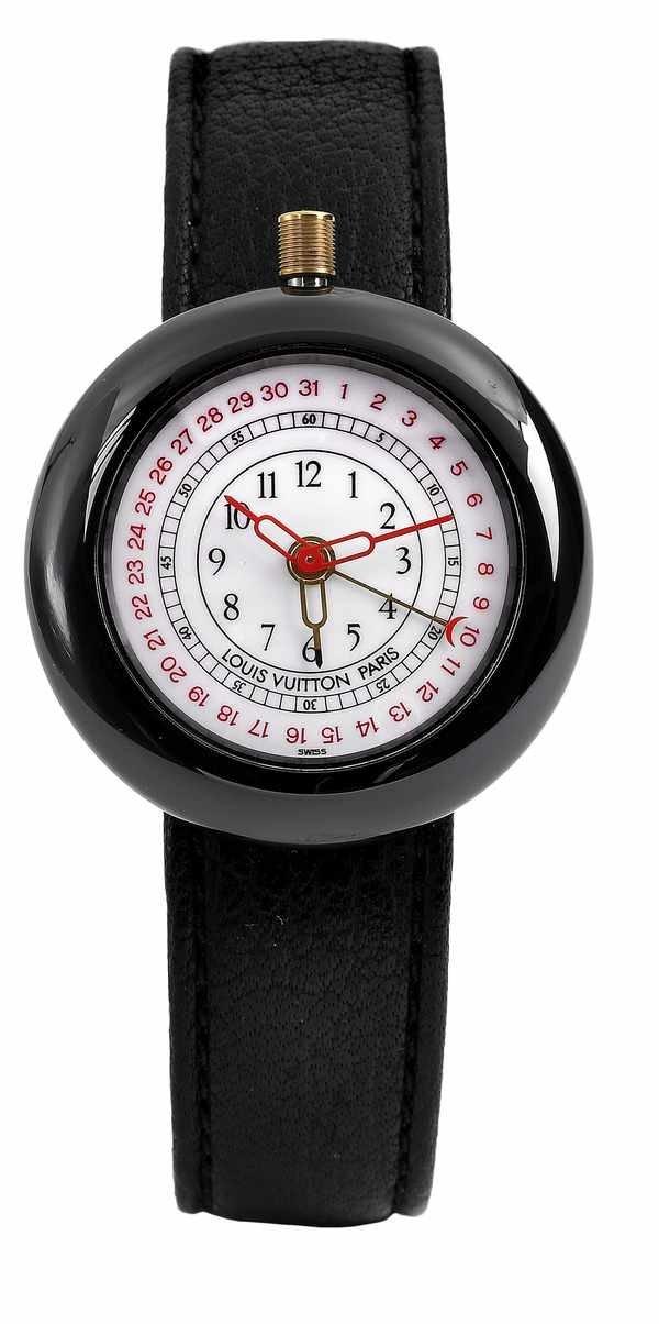 14: Louis Vuitton IWC Ceramic Alarm Quartz Watch