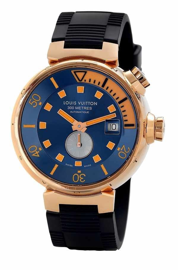 15: Louis Vuitton Tambour Automatic Diving Watch