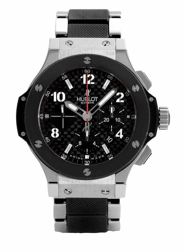 17: Hublot Big Bang Chronograph 301.M Steel Ceramic