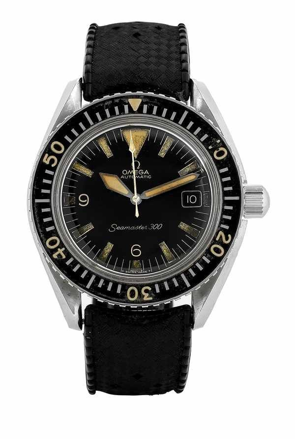 30: Omega Seamaster 300 Automatic Steel Watch 1960s