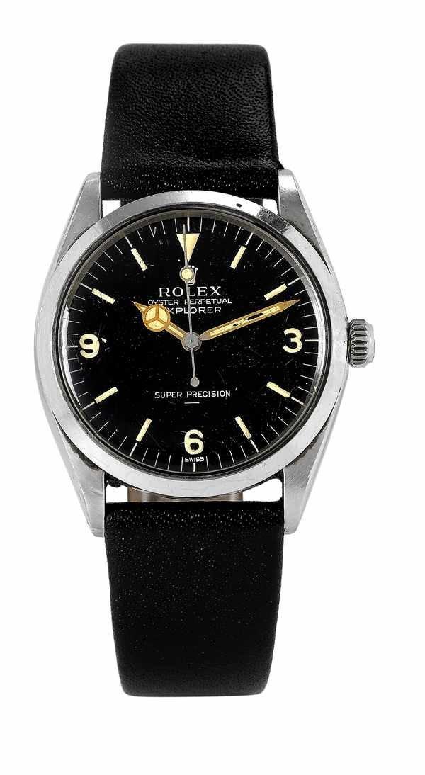 72: Rolex Explorer 5500 Underline Dial Steel 1963