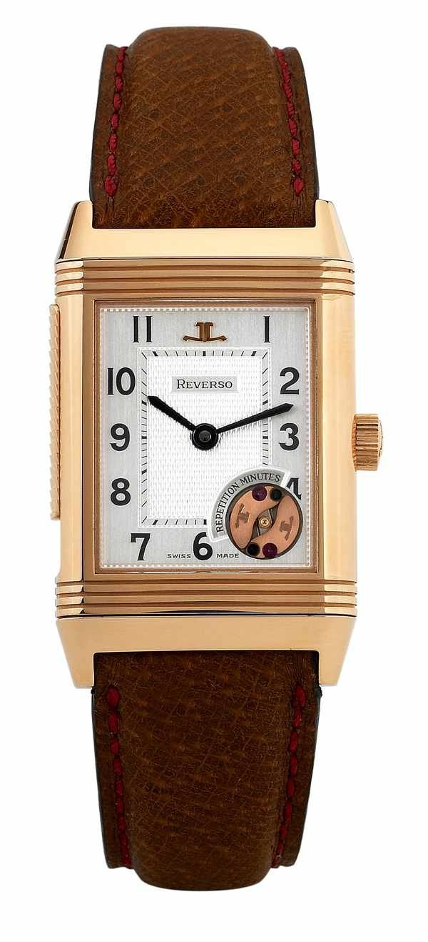 164: Jaeger LeCoultre Reverso Repetition Minutes 18K