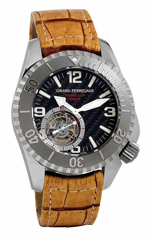 165: Girard-Perregaux Tourbillon Sea Hawk ProTitanium