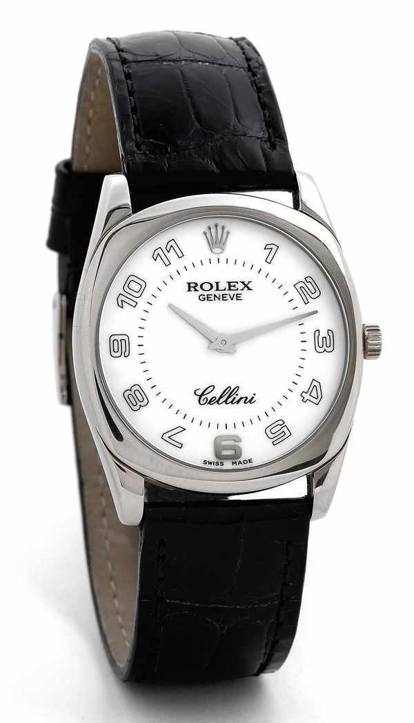 167: Rolex Cellini Ref 4233 18K White Gold ca 1999
