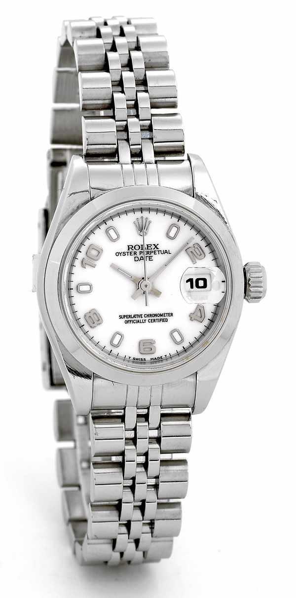 169: Rolex Ladies Datejust Ref 69160 Steel