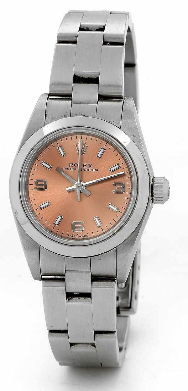 170: Rolex Ladies Oyster Perpetual 76080 Steel
