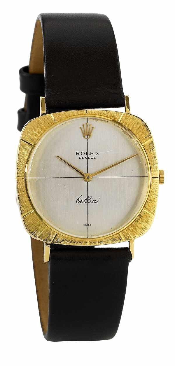 173: Rolex Cellini Ref 3736 Ultra Thin 18K ca 1970s