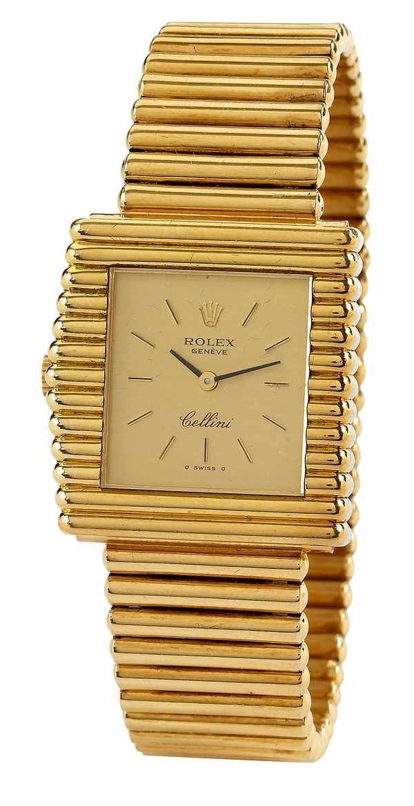 174: Rolex Cellini Ref 4015 Left-Handed 18K ca 1970s