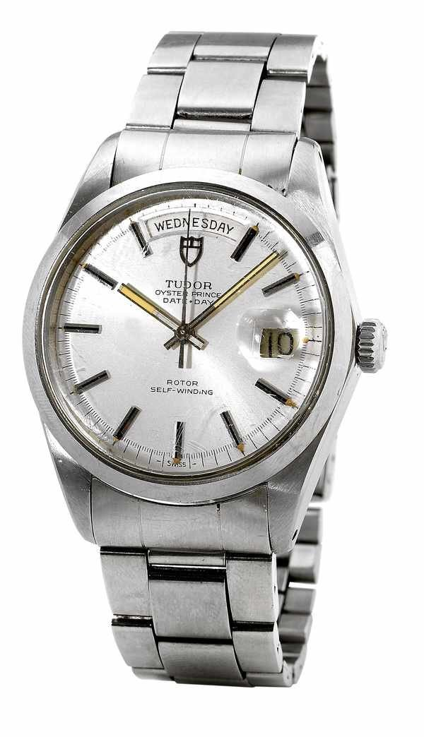 179: Tudor Oyster Prince Date-Day 7017/0 Steel 1960s