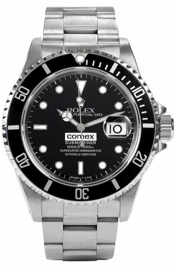 189: Rolex Submariner COMEX 16610 Steel Box/Papers