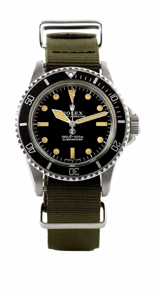 325: Rolex Submariner 5513 British Military Issued