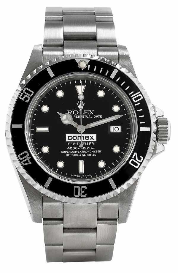 327: Rolex SeaDweller COMEX 16600 Theo Mavrostomos