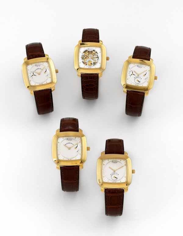 375: Corum 5 Complicated Watches set for Asprey 18K