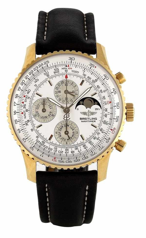 418: Breitling Navitimer Olympus Chronograph 18K