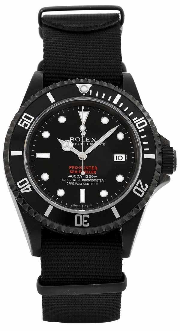 473: Rolex SeaDweller Pro Hunter 16600Celebrity Owned