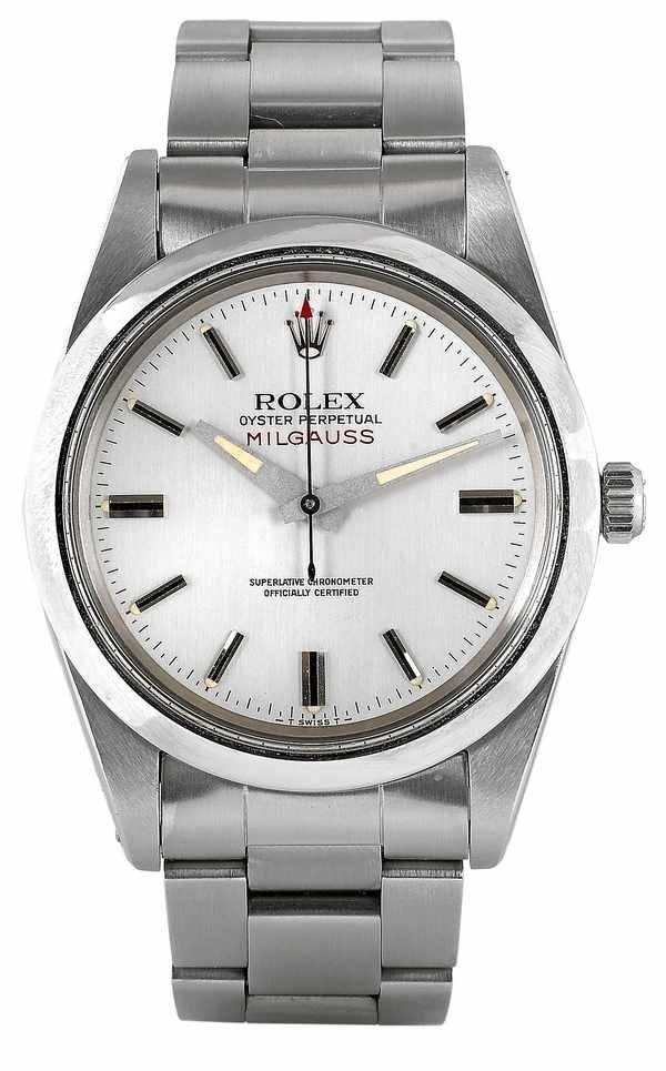 502: Rolex Milgauss 1019 Mark II Silver Dial 1970