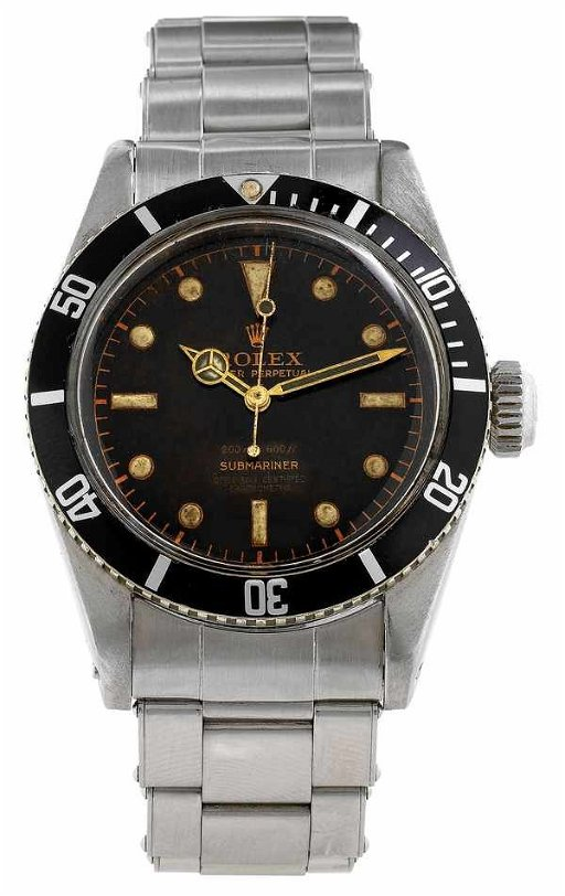 516 Rolex Vintage Submariner 6538 James Bond 1957