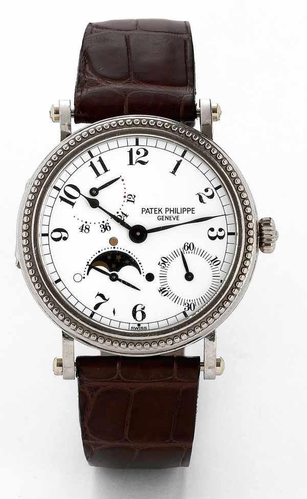 531: Patek Philippe 5015 G Moonphase PowerReserve 18K