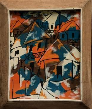 Beauvoir, Paul: View of the Village, N.D.
