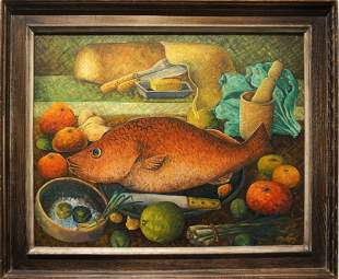 Bigaud, Wilson: Red Snapper, 1954