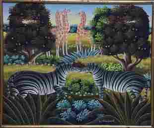 Blanchard, Smith: Zebras and Giraffes, N.D.