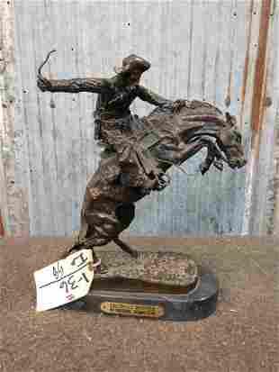 Frederick Remington Bronze Bronco Buster