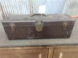 Vintage Heddon Tackle Box With 69 Vintage Fishing Lures