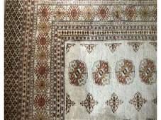 5 x 9 Vintage Bokhara Rug
