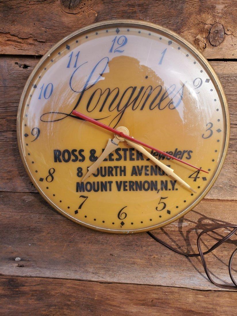 Longines Jewelers Clock