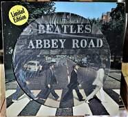 Rare Beatles Abbey Road Picture Disc for Dutch Market