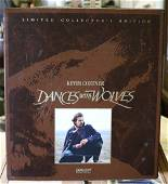 Box Set of Dances With Wolves Limited Edition LaserDisc