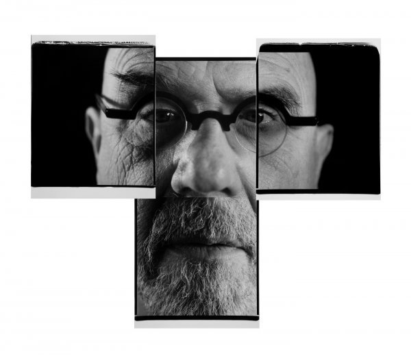 9: Self-Portrait Quad, 2007, by Chuck Close