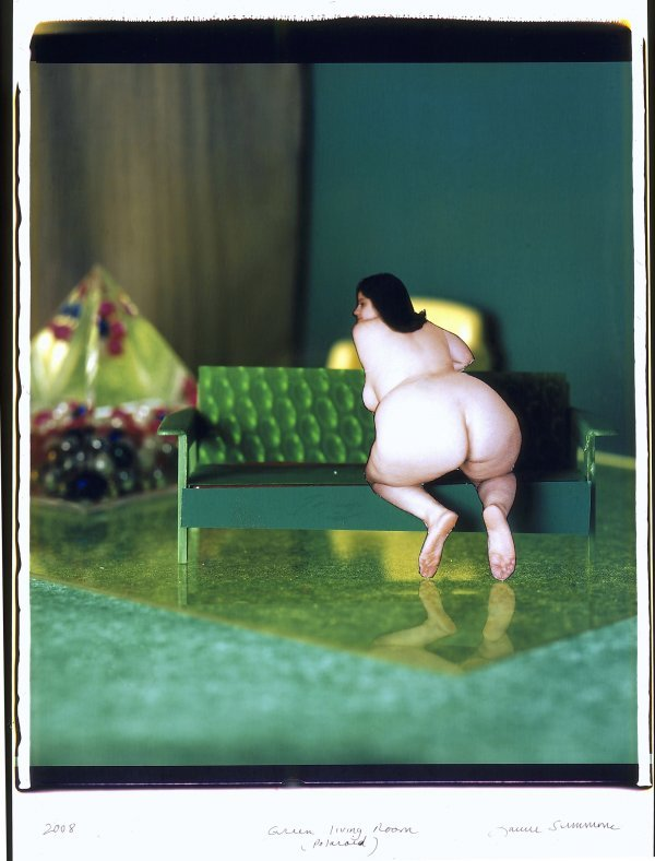 8: Green Living Room, by Laurie Simmons