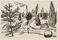 S.SEBBA(*1897), Sleigh ride in winter landscape, c.