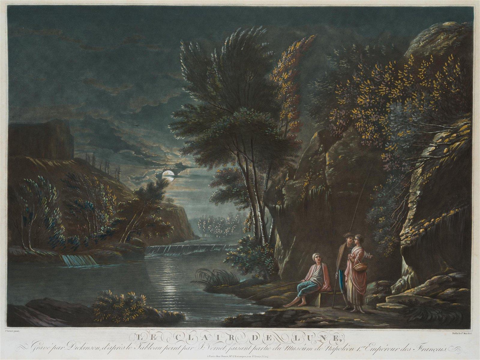 W.DICKINSON(*1746) after Claude Joseph Vernet: