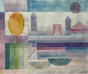 Paul Klee (Watercolor on Paper)