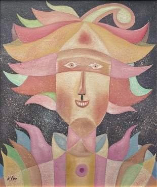 Paul Klee (Oil on Canvas)