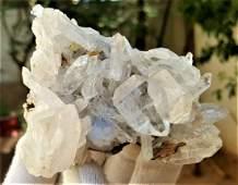 193.4 Grams Undamaged Fedan Quartz Crystal