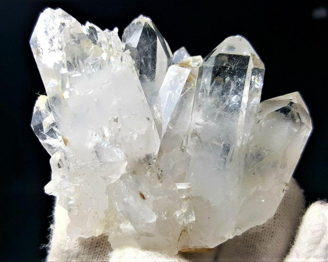 Undamaged Fedan Quartz Crystals Cluster - 68.6 Grams