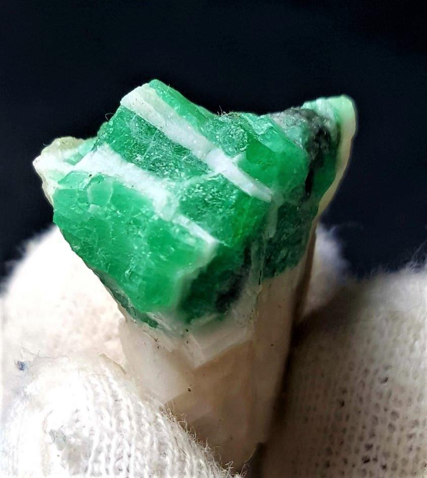 Emerald Crystal in the Matrix - 8.9 Grams